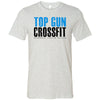 Top Gun CrossFit - Distressed - Bella + Canvas - Men's Short Sleeve Jersey Tee