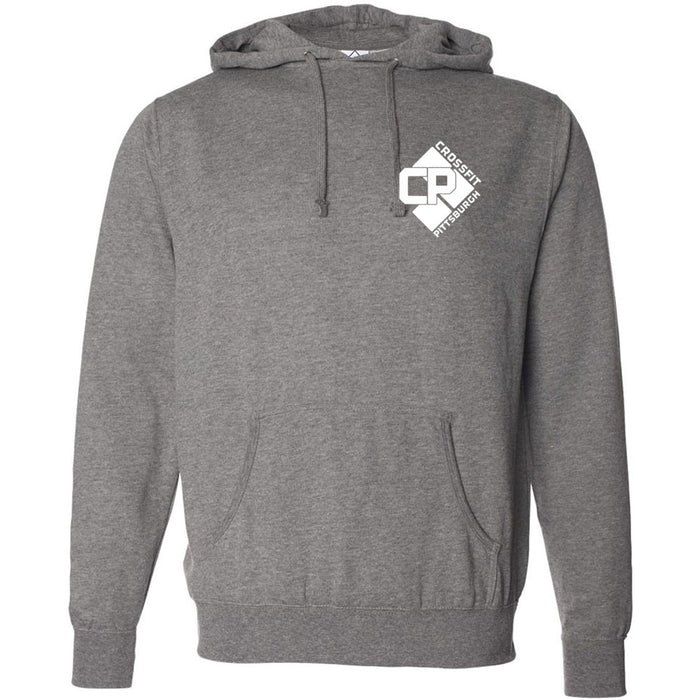 CrossFit Pittsburgh - 201 - RED - Independent - Hooded Pullover Sweatshirt