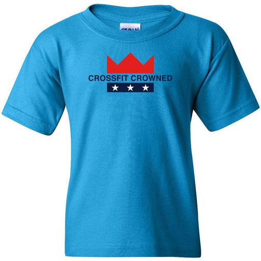 CrossFit Crowned - 100 - Standard - Gildan - Heavy Cotton Youth T-Shirt