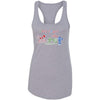 3 Dog CrossFit - 100 - Standard - Next Level - Women's Ideal Racerback Tank