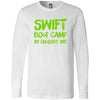 CrossFit TNT - 100 - Swift Green - Bella + Canvas 3501 - Men's Long Sleeve Jersey Tee