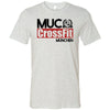 CrossFit MUC - 100 - Standard - Bella + Canvas - Men's Short Sleeve Jersey Tee