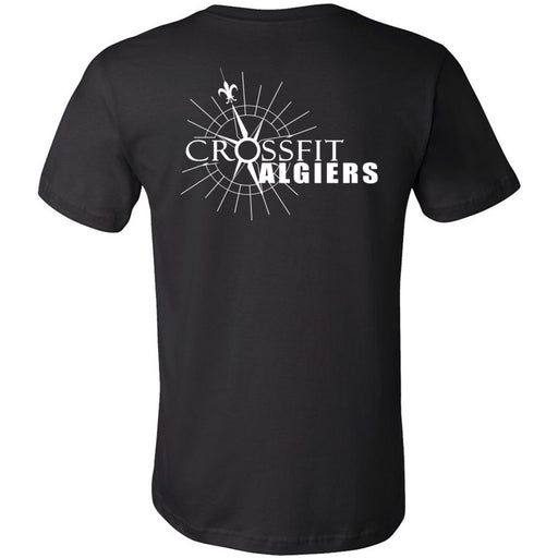 CrossFit Algiers - 200 - Strong People - Bella + Canvas - Men's Short Sleeve Jersey Tee
