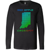 Mad Apple CrossFit - 100 - LED - Bella + Canvas 3501 - Men's Long Sleeve Jersey Tee