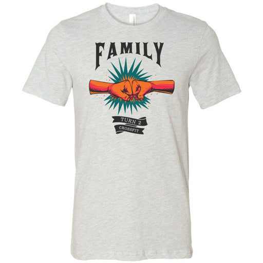 Turn 2 CrossFit - 100 - Family - Bella + Canvas - Men's Short Sleeve Jersey Tee