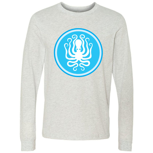Like Water CrossFit - 202 - Octopus - Bella + Canvas 3501 - Men's Long Sleeve Jersey Tee