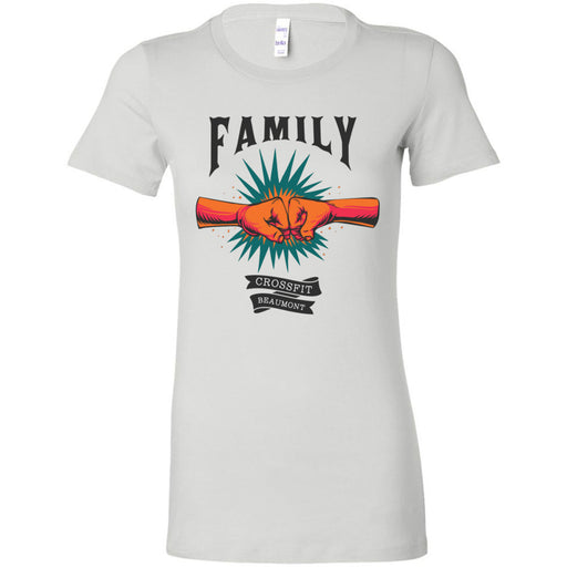 CrossFit Beaumont - 100 - Family - Bella + Canvas - Women's The Favorite Tee