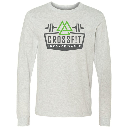 CrossFit Inconceivable - 100 - Standard - Bella + Canvas 3501 - Men's Long Sleeve Jersey Tee