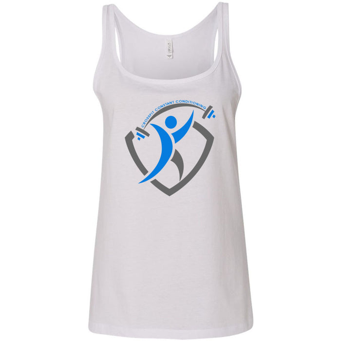 CrossFit Constant Conditioning - 100 - Design 2 - Bella + Canvas - Women's Relaxed Jersey Tank