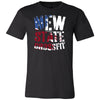 New State CrossFit - 100 - Flag - Bella + Canvas - Men's Short Sleeve Jersey Tee