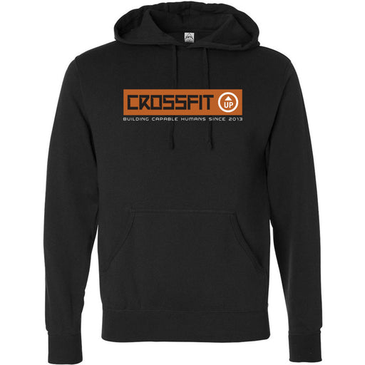 CrossFit Up - 100 - Building Capable Humans - Independent - Hooded Pullover Sweatshirt