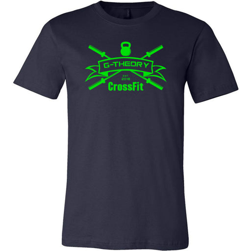 G-Theory CrossFit - 100 - Standard Green - Bella + Canvas - Men's Short Sleeve Jersey Tee