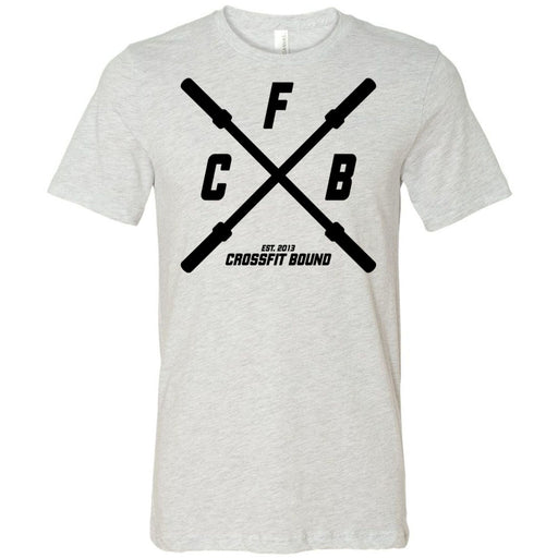 CrossFit Bound - 100 - Barbell - Bella + Canvas - Men's Short Sleeve Jersey Tee