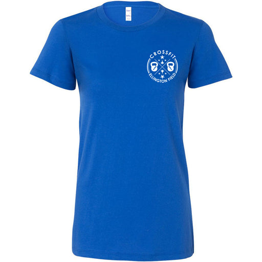 CrossFit Ellington Field - 100 - Pocket - Bella + Canvas - Women's The Favorite Tee