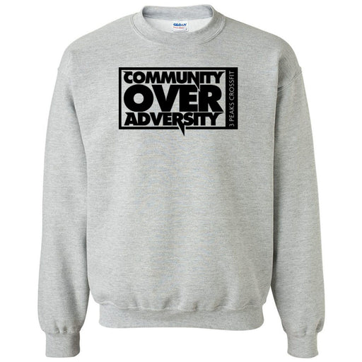 3 Peaks CrossFit - 100 - Community - Gildan - Heavy Blend Crewneck Sweatshirt