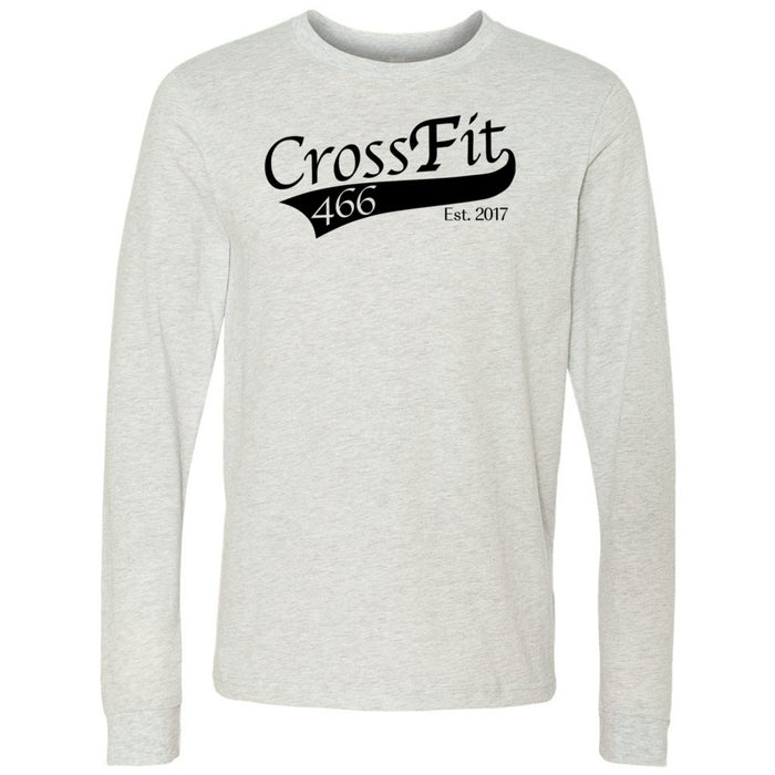 CrossFit 466 - 100 - Standard - Bella + Canvas 3501 - Men's Long Sleeve Jersey Tee
