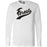 CrossFit Forest - 202 - Script - Bella + Canvas 3501 - Men's Long Sleeve Jersey Tee