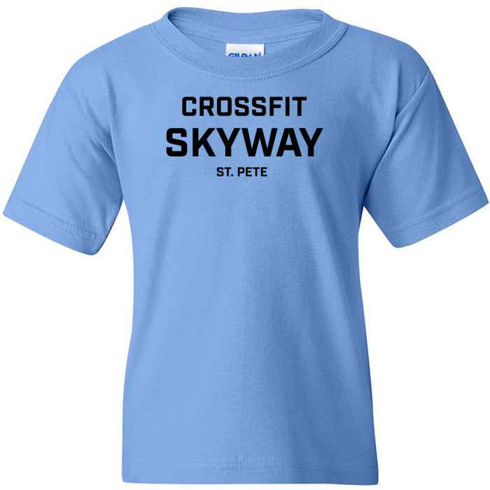 CrossFit Skyway - 100 - St. Pete - Gildan - Heavy Cotton Youth T-Shirt