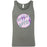 CrossFit Aptos - 100 - Circle Purple - Bella + Canvas - Men's Jersey Tank