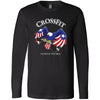 CrossFit North Peoria - 100 - Standard - Bella + Canvas 3501 - Men's Long Sleeve Jersey Tee