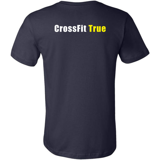 CrossFit True - 200 - Pocket - Bella + Canvas - Men's Short Sleeve Jersey Tee