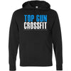 Top Gun CrossFit - 100 - Distressed - Independent - Hooded Pullover Sweatshirt