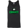 Carriage House CrossFit - 100 - Green - Bella + Canvas - Men's Jersey Tank