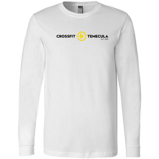CrossFit Temecula - 100 - Standard - Bella + Canvas 3501 - Men's Long Sleeve Jersey Tee