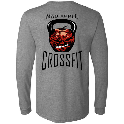 Mad Apple CrossFit - 202 - Vibe Tribe - Bella + Canvas 3501 - Men's Long Sleeve Jersey Tee