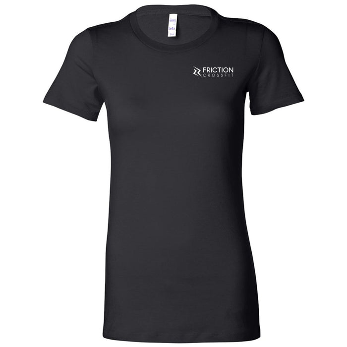 Friction CrossFit - 200 - Target 2 Sides - Bella + Canvas - Women's The Favorite Tee