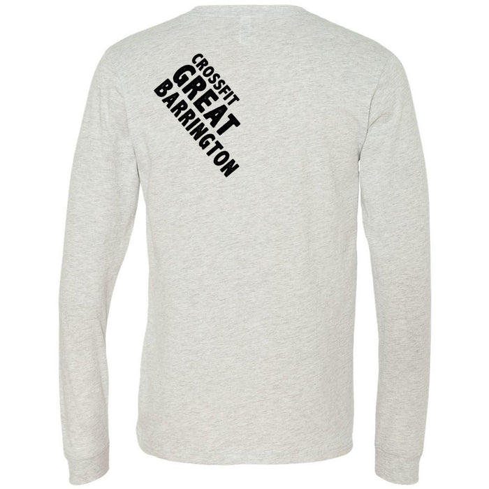 CrossFit Great Barrington - 202 - Lift - Bella + Canvas 3501 - Men's Long Sleeve Jersey Tee