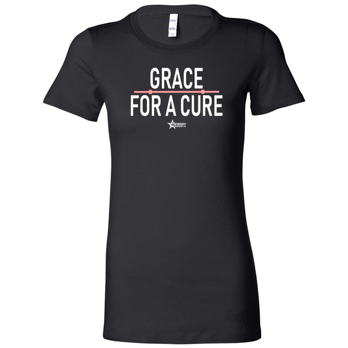 CrossFit Marquette - 100 - Grace For A Cure - Bella + Canvas - Women's The Favorite Tee