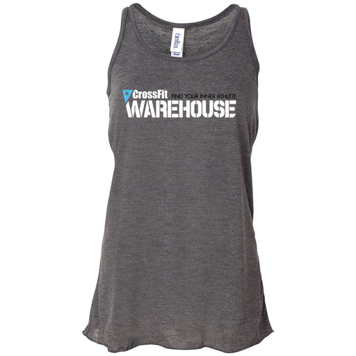 CrossFit Warehouse - 100 - Standard - Bella + Canvas - Women's Flowy Racerback Tank