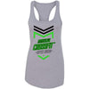 Made2Live CrossFit - 100 - 2020 Open Black Green - Next Level - Women's Ideal Racerback Tank