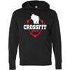 CrossFit 608 - 100 - Standard - Independent - Hooded Pullover Sweatshirt