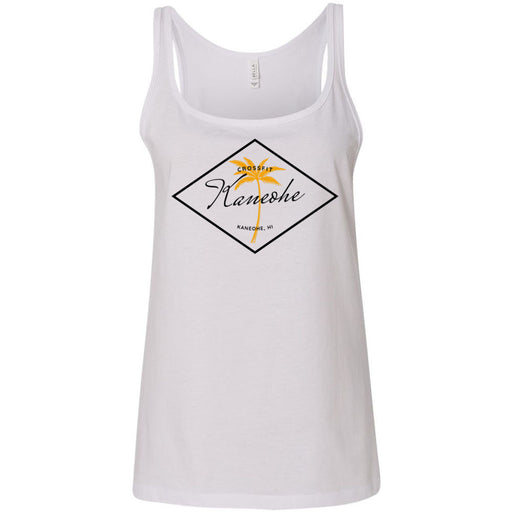 CrossFit Kaneohe - 100 - O2 - Bella + Canvas - Women's Relaxed Jersey Tank