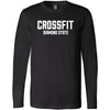 CrossFit Diamond State - 100 - Standard - Bella + Canvas 3501 - Men's Long Sleeve Jersey Tee