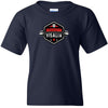 CrossFit Visalia - 100 - Barbell - Gildan - Heavy Cotton Youth T-Shirt