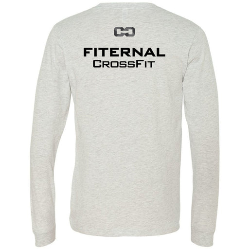 Fiternal CrossFit - 202 - Nutrition - Bella + Canvas 3501 - Men's Long Sleeve Jersey Tee