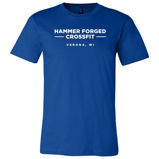 Hammer Forged CrossFit - 100 - Standard - Bella + Canvas - Men's Short Sleeve Jersey Tee