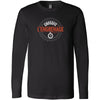 CrossFit L'Engrenage - 100 - Orange - Bella + Canvas 3501 - Men's Long Sleeve Jersey Tee
