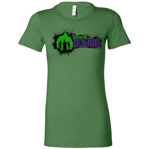 CrossFit Incredible - 100 - Horizontal - Bella + Canvas - Women's The Favorite Tee