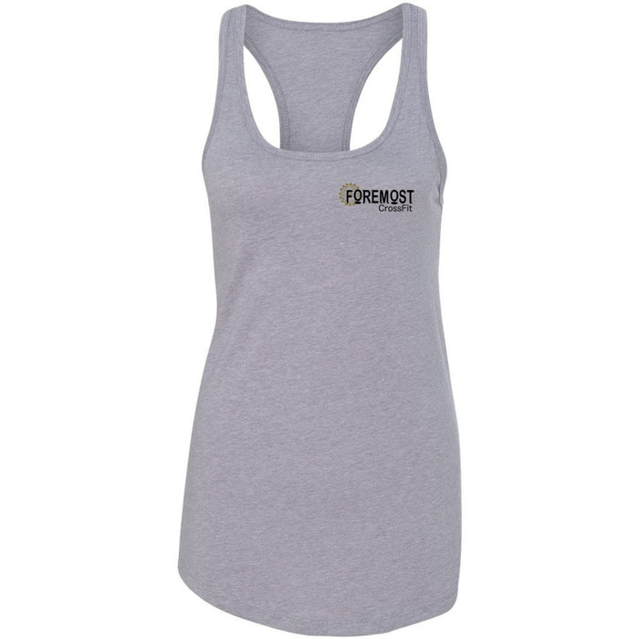 Foremost CrossFit - 100 - Pocket - Next Level - Women's Ideal Racerback Tank