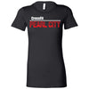 CrossFit Oahu - 200 - Pearl City Red - Bella + Canvas - Women's The Favorite Tee
