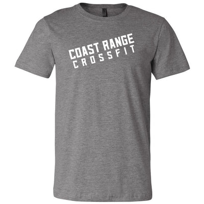 Coast Range CrossFit - 100 - Slant - Men's Short Sleeve Jersey Tee