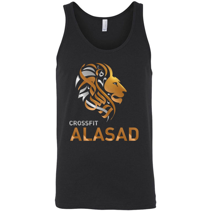 CrossFit Alasad - 100 - Lion - Bella + Canvas - Men's Jersey Tank