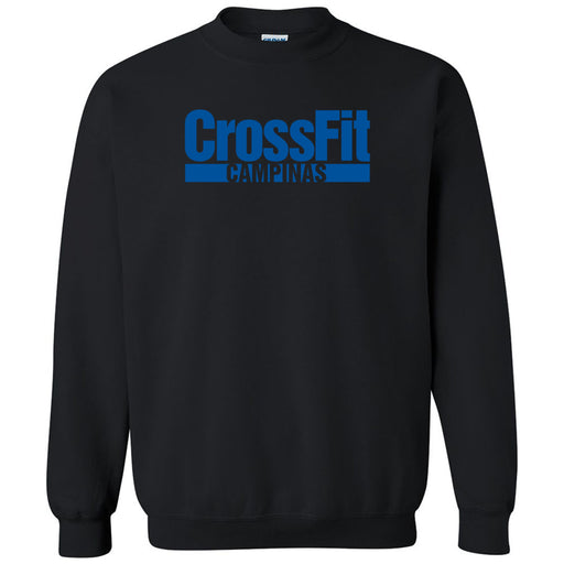 CrossFit Campinas - 100 - Blue - Gildan - Heavy Blend Crewneck Sweatshirt