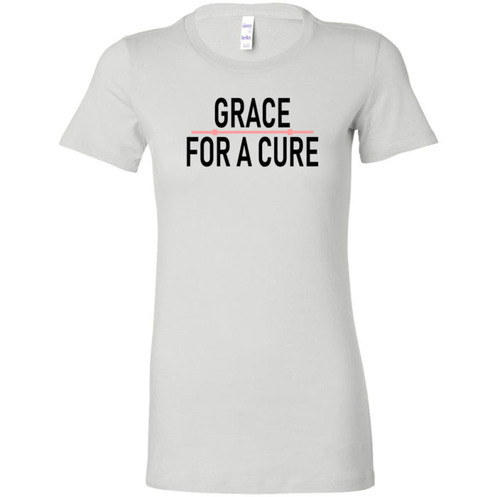 CrossFit Marquette - 200 - Grace For A Cure Barbell - Bella + Canvas - Women's The Favorite Tee