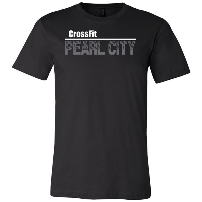 CrossFit Oahu - 200 - Pearl City Gray - Bella + Canvas - Men's Short Sleeve Jersey Tee