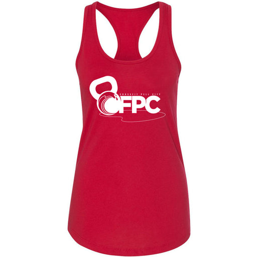 CrossFit Pell City - 100 - White - Next Level - Women's Ideal Racerback Tank